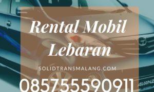 Rental Mobil Lebaran