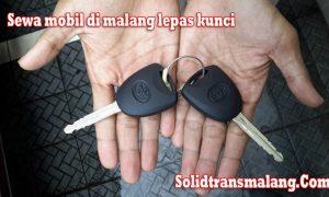 sewa mobil di malang tidak lepas kunci