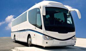 Tempat sewa bus Pariwisata