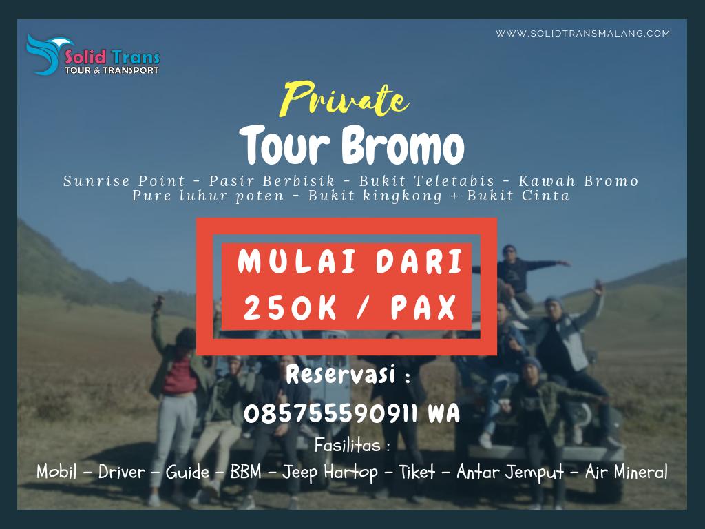 Paket Tour Ke Bromo dari Malang
