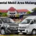 Jasa Rental Mobil Area Malang